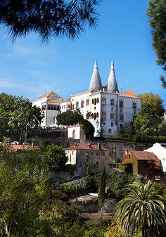 Sintra, Portugal  This picturesque medieval town at the foot of the Sintra Mountains makes a great day trip from Lisbon. Admire the romantic architecture, and visit the Castle of the Moors or the Sintra National Palace.