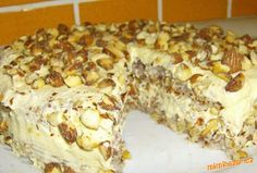 Mandlový dezert (dort) z IKEA - přibližně:-))