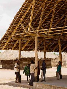 Escuelas en Cabo Delgado, Mozambique / Habitat Initiative Cabo Delgado, Mozambique - Archkids. Arquitectura para niños. Architecture for kids. Architecture for children.