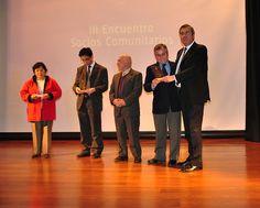 """Tercer Encuentro de Socios Comunitarios """"Formando una Ciudadanía Socialmente Responsable""""."""