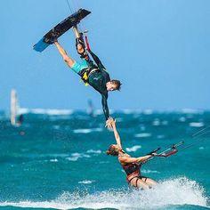 """Keep it simple, keep it fun""- Photo @letskitesurf . . . . #kitesurf #kitesurfing #kiteboarding #sport #watersport #watersports #beautifuldestinations #gopro #goprooftheday #travel #traveling #neverstopexploring #wanderlust #fun #drone #nature..."