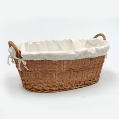 love this basket. keep on top of washing machine?  Wicker Laundry Basket Linen