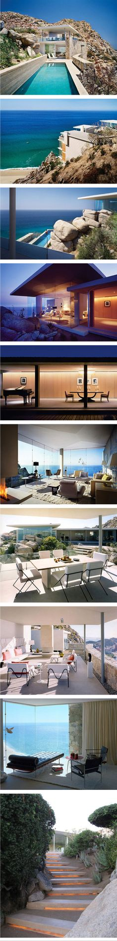 Casa Finisterra, Cabo San Lucas, Mexico http://freshome.com/2012/04/24/stunning-private-residence-overlooking-sparkling-waters/