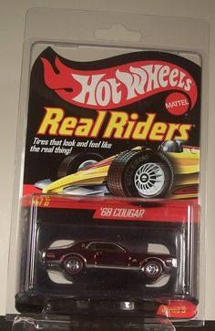 HOT-WHEELS RED LINE CLUB REAL RIDERS 2010 '68 COUGAR