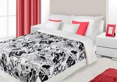 Kvalitní bílo černé přehozy do dětského pokoje Stylus, Bed, Furniture, Home Decor, Decoration Home, Style, Stream Bed, Room Decor, Home Furnishings