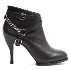McQ Alexander McQueen Brogued Ankle Boots