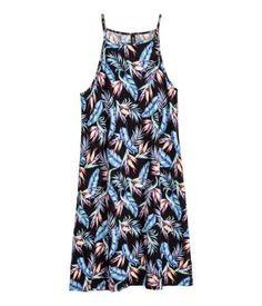 Short jersey dress | Light blue | LADIES | H&M NZ