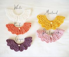 I found one grape coloured crochet collar! Online and only $10! You best