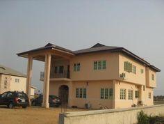 Detached house + BQ (Pearl Gardens Estate, Sangotedo, Lekki-Epe Expressway, Lagos, Nigeria)