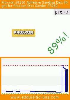 Proxxon 28160 Adhesive Sanding Disc 80 grit for Proxxon Disc Sander 37060 (Tools & Home Improvement). Drop 89%! Current price $15.45, the previous price was $135.96. http://www.adquisitio-usa.com/proxxon/28160-adhesive-sanding