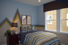 Moving to BackCountry soon? Let this colorful, creative paint job inspire the design for one of your kid's bedrooms.