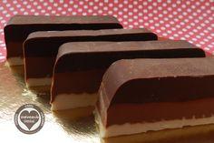horneando deseos: Turron 3 chocolates