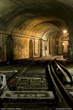 Abandoned Saint Martin Station, Paris