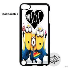 Despicable Me Minion 5 seconds of summer New Hot Phone Case For Apple, iPhone, iPad, iPod, Samsung Galaxy, Htc, Blackberry Case