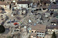 L'Aquila: la città dopo il terremoto.