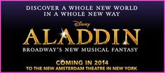"Disney's ""Aladdin"" Coming To Broadway In 2014"