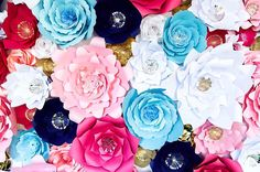 Items similar to Pink Paper Flower Wall x Extra Large Paper Flowers Decoration Photo Backdrop Prop on Etsy Flower Wall Wedding, Paper Flowers Wedding, Flower Wall Backdrop, Flower Wall Decor, Large Paper Flowers, Paper Flower Wall, Pink Paper, Paper Roses, White Paper