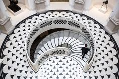 The opulent new staircase is the focal point of a £45 million refurbishment at the gallery, and a work of art in itself