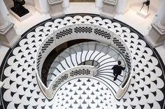 Tate Britain staircase via The Times