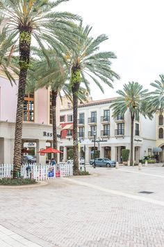 Shopping at CityPlace in West Palm Beach