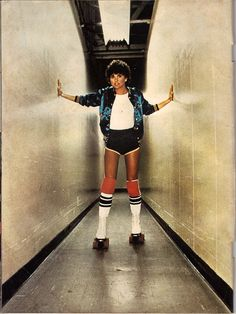 Roller Disco Inside Cover of Linda ronstadt  by psycopete, via Flickr