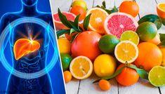 En flott diett for rensing av leveren - Veien til Helse Type 1 Diabetes, Grapefruit, Juice, Food And Drink, Health Fitness, Vegetables, Drinks, Healthy, Dale Chihuly