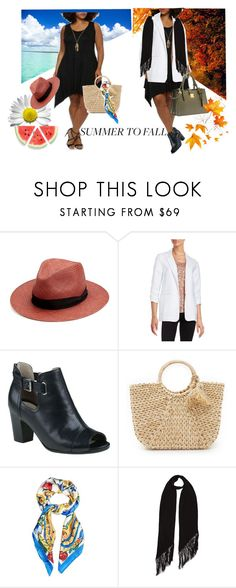 """""""Summer to Fall - Layers"""" by ical-rox ❤ liked on Polyvore featuring rag & bone, MICHAEL Michael Kors, Hat Attack, Dolce&Gabbana, Rockins, Miu Miu, layers and summertofall"""
