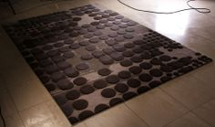 Rugs Online - Hand Tufted with low and high pile in New Zealand wool and Viscose