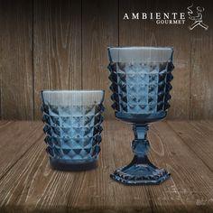 Copas en vidrio estilo vintage, diseño moderno para evocar el pasado. Ambiente Gourmet / Alamedas Centro Comercial #SiempreContigo