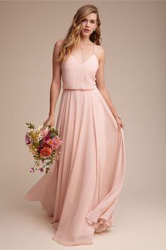 Pink Bridesmaid Dress, Spaghetti Straps Long Bridesmaid Dress, Chiffon Bridesmaid Dress · prom dress · Online Store Powered by Storenvy Bridal Party Dresses, Wedding Bridesmaid Dresses, Prom Dresses, Blush Dress Bridesmaid, Blush Bridesmaid Dresses Short, Pink Bridesmaids, Blush Pink Dresses, Bridesmaid Dresses Online, Dress Prom