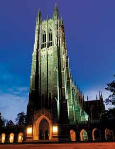 Duke University Cathedral- still dream about this place