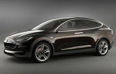 Die Flügeltüren lassen das Tesla Model X futuristisch wirken. © Tesla Motors