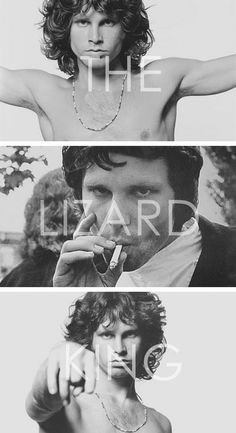 Jim Morrison-The Lizard King