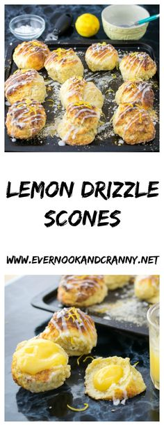 Lemon Drizzle Scones