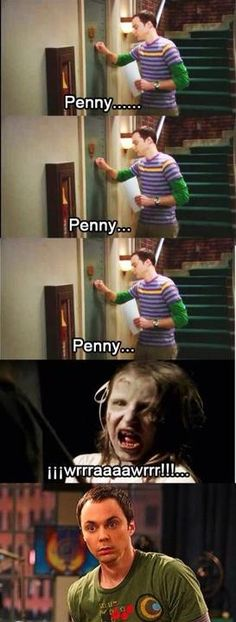 Sheldon & Penny two of my favorite shows in one!