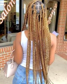 Braided Hairstyles For Black Women Cornrows, Kids Braided Hairstyles, African Braids Hairstyles, Black Women Hairstyles, Blonde Box Braids, Braids With Curls, Natural Hair Braids, Braids For Black Hair, Curly Hair Styles