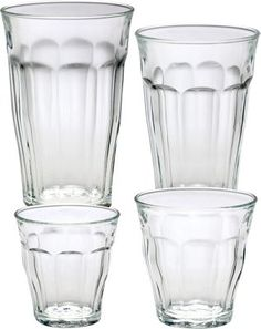 Picardie Original French Glass Tumblers Are Nearly Indestructible