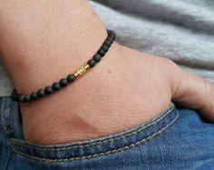 Men's Bracelets, Men's Necklaces, Custom Jewelry by PupikJewelry Shambala Bracelet, Beaded Jewelry, Beaded Bracelets, Tiger Eye Bracelet, Tiger Eye Beads, Bracelets For Men, Bracelet Men, Sea Glass Jewelry, Necklace Designs