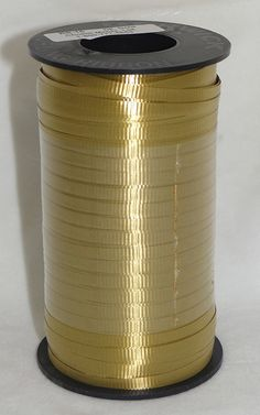Dark Gold 3/16' Curling Ribbon 500 Yards (1500 Feet) Balloons, Gifts, Party, WeddingLight ** See this great product.