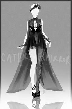 (CLOSED) Adopt Auction - Outfit 13 by cathrine6mirror
