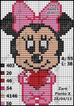 Baby Minnie pattern – Delicado Cantinho