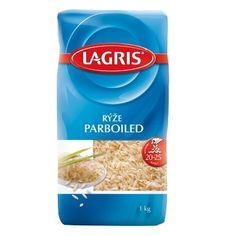 Lagris Rýže PARBOILED dlouhozrnná 1 kg - nakupuj na Podravka-eshop.cz
