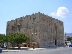 Bourtzi castle in Karystos