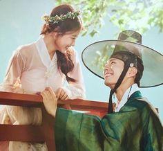 """you_r_love: 꿀처럼 달콤한 드라마 구르미 그린 달빛 8월 22일 월요일 밤 10시 kbs 2TV에서 만나요 :)  ""you_r_love: drama 'moonlight drawn by clouds' that is sweet like honey see you on monday night August 22 at 10pm on kbs 2TV :) "" """