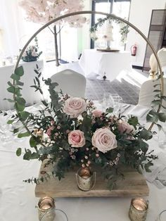 This is a Handmade reusable hoop - in welded Cast Iron. They are sold as a single hoop to use as a hanging display or you can purchase the base as an optional extra cost to make this a cake or a centre piece stand - included on the drop down menu. It is ideal for reuse for home decor enthusiasts, Wedding Table Centres, Wedding Table Decorations, Table Centerpieces, Wedding Centerpieces, Centrepiece Ideas, Wedding Lanterns, Floral Hoops, Luxe Wedding, Floral Wedding
