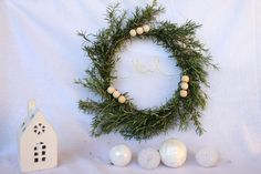 [DIY Noël] Une couronne de romarin – MamanDIY
