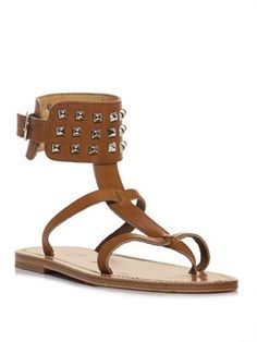 d66e89d226b Studded ankle strap sandals Ankle Strap Sandals