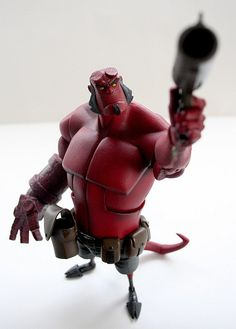 Hellboy ★ Find more at http://www.pinterest.com/competing/