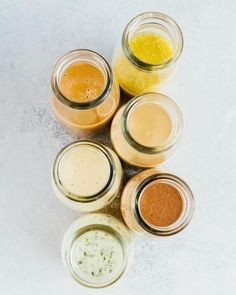 I get questions all the time about what type of dressings I use for my salads and I'm currently working on a blog post with my favorite store-bought dressings but homemade is BEST. I have a blog post with my six go-to dressings ready and waiting for ya #ontheblog. Take time this weekend to make one so you'll be ready for drizzlin' this coming week! They're all amazing but definitely don't sleep on the zesty tahini or the cilantro lime! . . . #saladdressing #salad #saladeveryday #saladpower…