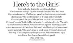 Here's to the Girls: